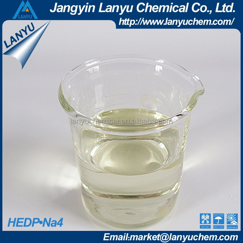 Chelating agent in non-cyanide electroplating HEDP.Na4