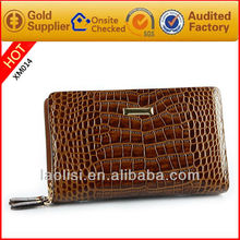 2013 Guangzhou New Design Handmade Snake Skin and Crocodile Skin Men Wallets Genuine Leather Purse