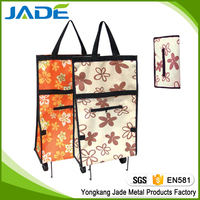 Foldable supermarket trolley shopping trolley bag