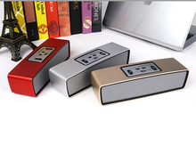 Thecoo latest model high end portable bluetooth speakers with compact aluminum design as corporate gifts premium gifts