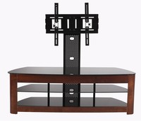 Modern plywood corner wooden tv stand pictures lcd tv clamp bracket RM012