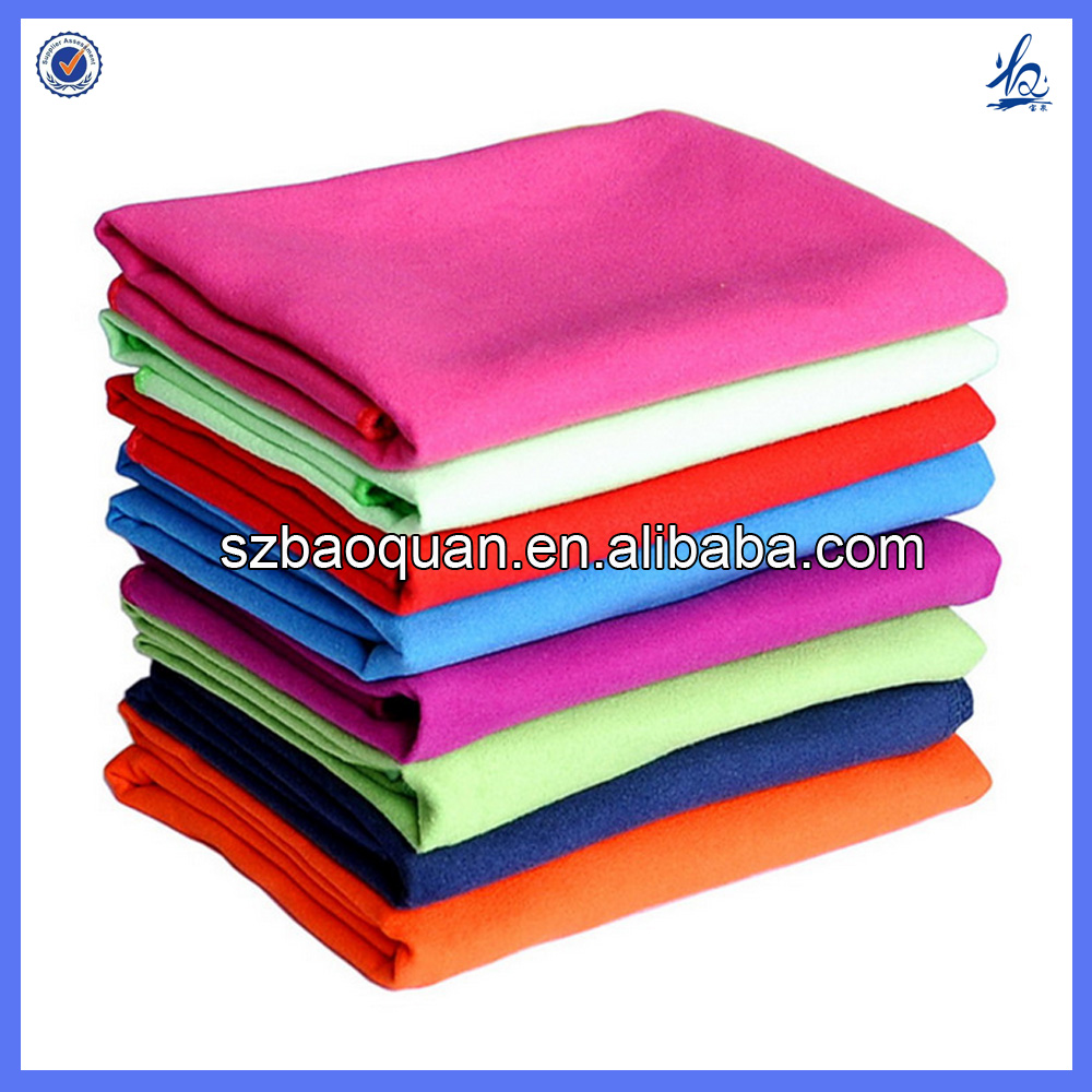 Best Sell Microfiber Suede Towel In Sports or Beach or Travel or Fitness
