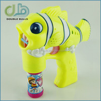 ABS Plastic Type bubble gun 2 bottles of water bubble gun