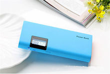 led screen display portable power bank charger for smart phone 13000mah
