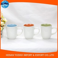 shan dong different ceramic mugs, ceramic glaze mug set