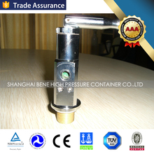 safety device CGA540 CGA870 brass medical oxygen valve for oxygen cylinder