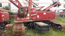 America made Manitowoc 250t crawler crane,main boom 60m in recent years and cheap price