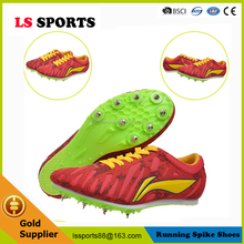 Latest professional athletics spike shoes running sports spiking running shoes Lingning-038