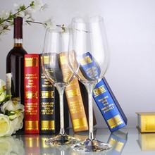 Top-level latest design crystal wine glasses, with 2 hours reply free sample available wine glasses