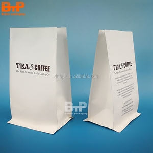 Coffee Printing Packaging Bag with Tie and valve for Food