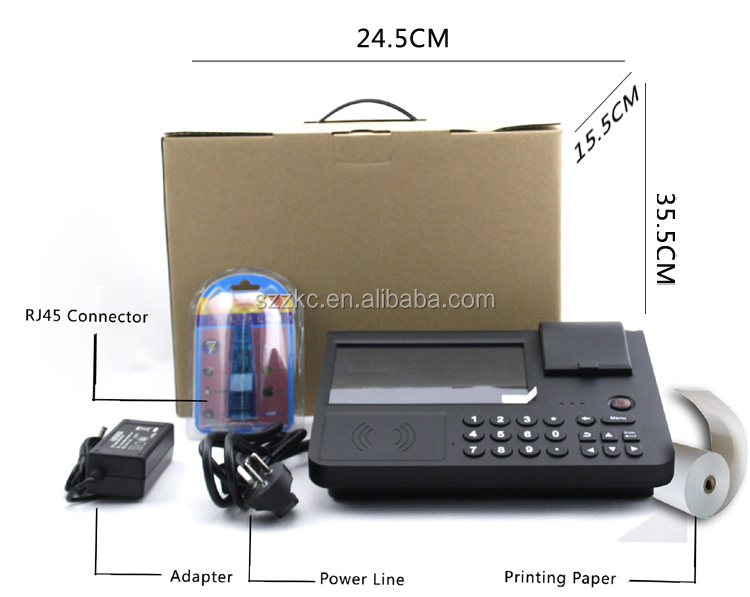 NFC payment device with printer,Smart card ,GPS ,WCDMA ,2D barcode ,WiFi ,Bluetooth, Android 4.2 OS(PC701)