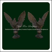 Life Size Garden Animal Bronze Eagle Statue
