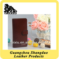 Custom Genuine Leather Travel Wallet for Man in Factory Price