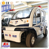 4 Wheel Utility Electric Transport Cart