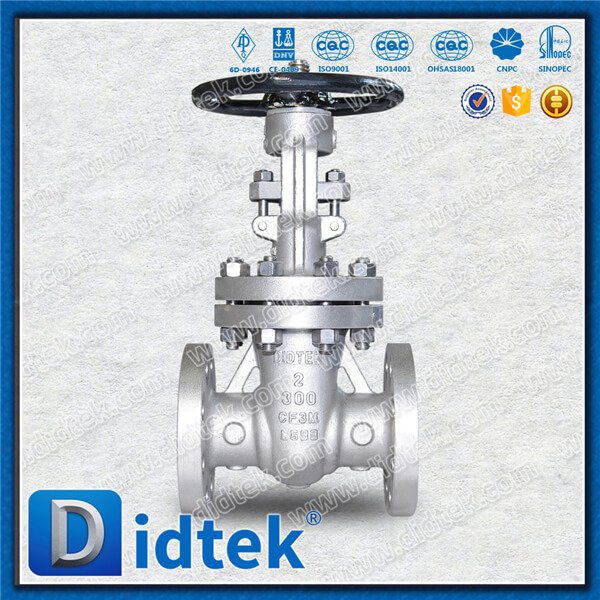 China Professional Valve Manufacturer rising stem gear operated gate valve For industrial