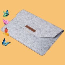 Personalize flap PC felt material pofoko laptop sleeve