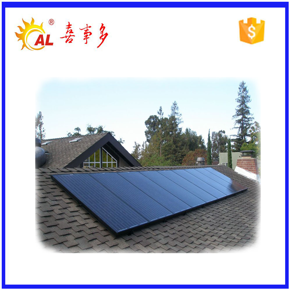 High technology sun power solar panels flat plate solar thermal collector