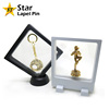 New Portable Factory Sale Clear 3D Display Floating Frame Case for Jewelry