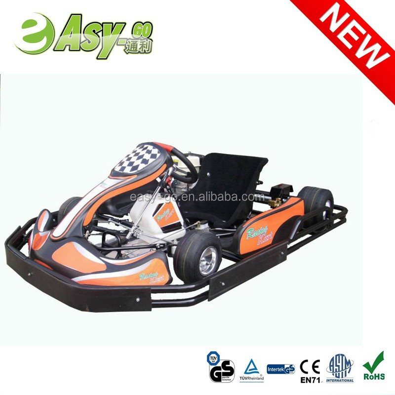 Hot selling 200cc/270cc 6.5HP/9HP 4 stock go kart car bodies with safety bumper pass CE certificate