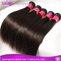 alibaba soft and lovely high quality full cuticle ebony human hair
