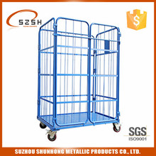 used pallet trolley laundry containers