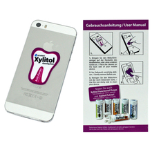 adhesive Mobile phone plush screen cleaner sticker
