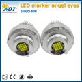 80W 7000K White E60LCI LED Angel Eyes Ring Marker Light Bulbs For E60LCI E61LCI E71 X6
