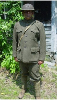 US Marine World War One Wool Uniform