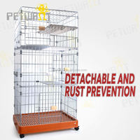 2014 promotional folded metal strong dog cage pet crate