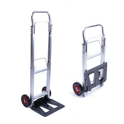 Aluminium Metal Foldable Supermarket Trolley
