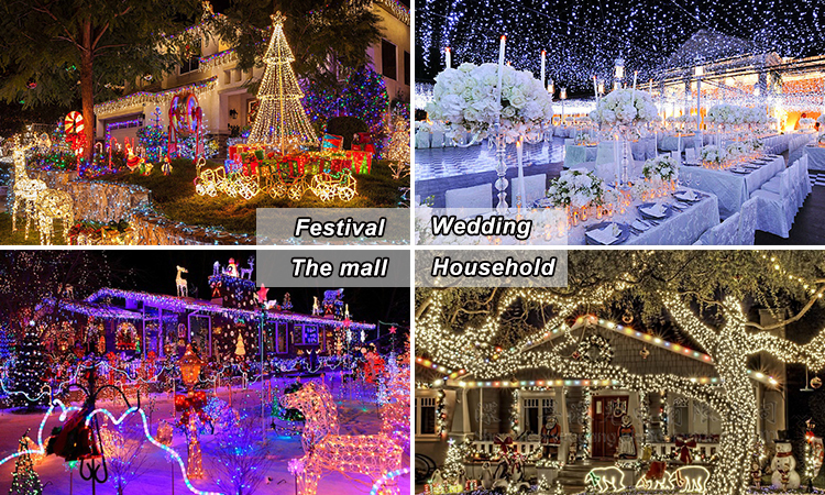 10M 33FT 100 Pcs Warm White LEDs Copper Wire 3AA Battery Operated Remote Control LED String Lights With Timer