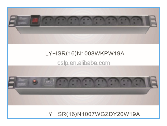 China good quality price 6 7 8 9 10 11 12 Ways various ways Israel Pdu Socket With Switch