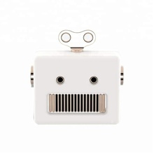 Newest Mini Portable Wireless <strong>Speaker</strong> Cartoon Robot <strong>Bluetooths</strong> <strong>Speaker</strong> with Christmas Gift