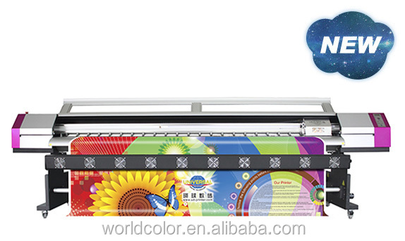 UD Brand Galaxy Eco Solvent DX5 UD-3212LC Inkjet Printer for Outdoor Printing