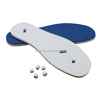 soft adjustable inserts poron insole shoe footwear insole