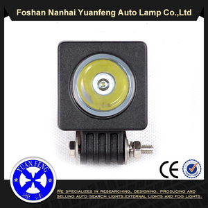 Small size square 2 inch 10w led work lights YF-CH016