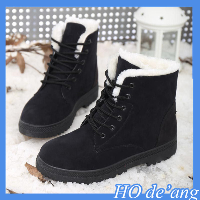 2016 Hogift winter new Korean fashion casual warm fluff women boots snow boots women MHo-140
