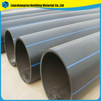 pe80 pe100 3 inch HDPE pipe sdr11 plastic pipe for water supply and drainage