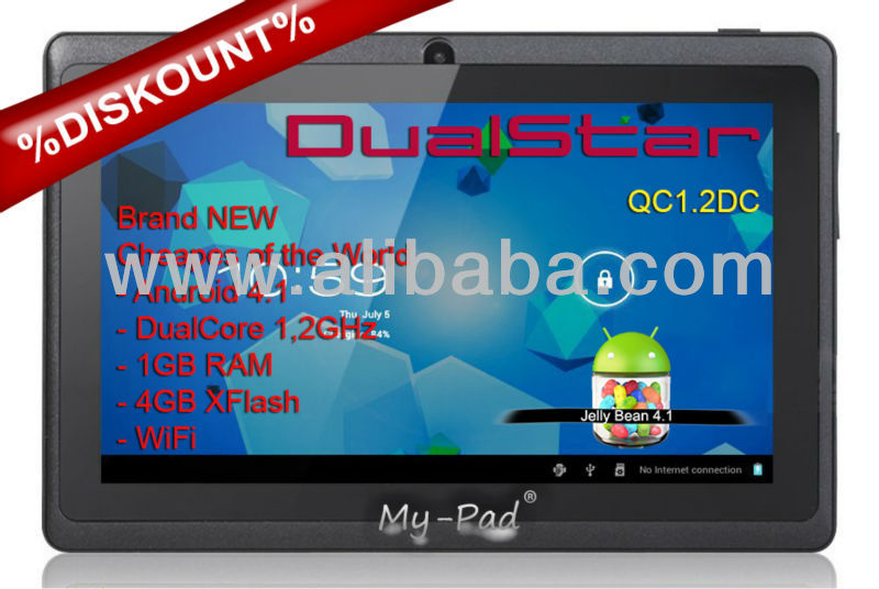 "Multi Touch Tablet PC MID 1.2GHz Dual Core 7""Inch Discount 1GB"