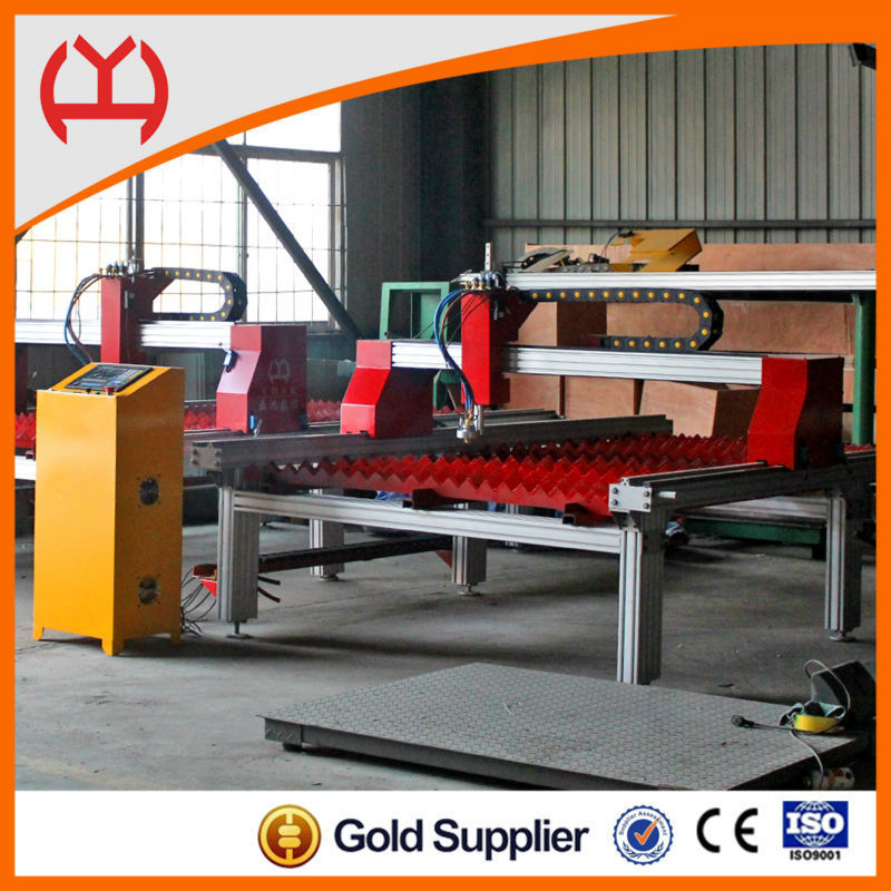 aluminium cross beam cnc plasma automatic cnc cutting machine