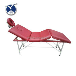 Wholesale portable folding aluminum stationary massage table