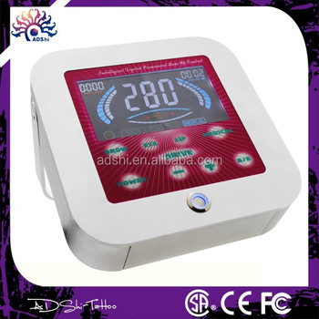 Body art permanent makeup machine, LED touch screen power device