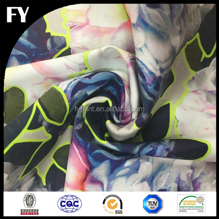 Factory direct custom digital print fabric and textile