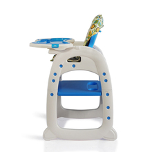 2 in 1 baby highchair plastic high chair
