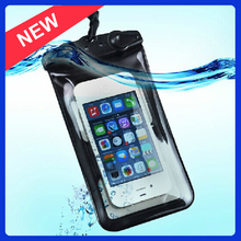 The newest products pvc phone waterproof case, Waterproof PVC Bag case for iPhone 5/5S
