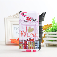 Universal case cover for 4.7 inch cell phone waterproof plastic case for iphone glitter case