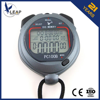 Multifunctional PC100B Black mini digital timer stopwatch