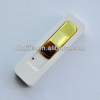 No flame popular Christmas advertising promotion gadget USB lighter Agent