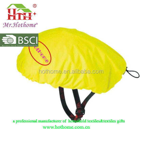 2016 overlock waterproof fabric high visibility bike helmet cover