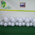Promotional Customized Logo Printing Inflatable Clear Plastic Ball / Portable Promotion Inflatable Bouncy Beach Ball